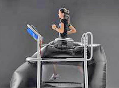 weightless exercise machines
